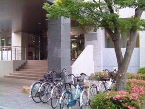 大学院医学系研究科の入り口。