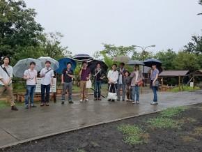 天気はいまいちでしたが、大きく雨に濡れることもなく、とても楽しいラボ旅行でした。